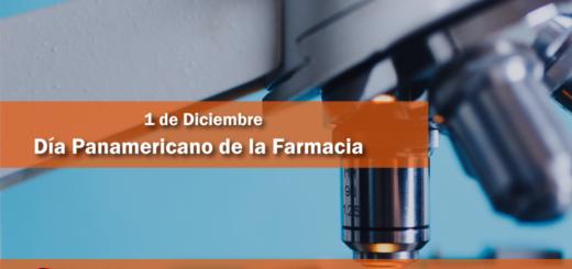 1 de diciembre: Día Panamericano de la Farmacia