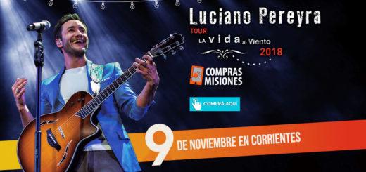 Entre los usuarios de Compras Misiones se realizó un concurso por entradas para ver a Luciano Pereyra y las ganó…