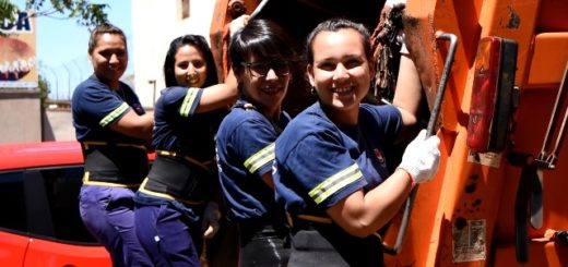 Posadas contará por primera vez con un equipo de recolección de residuos integrado por mujeres
