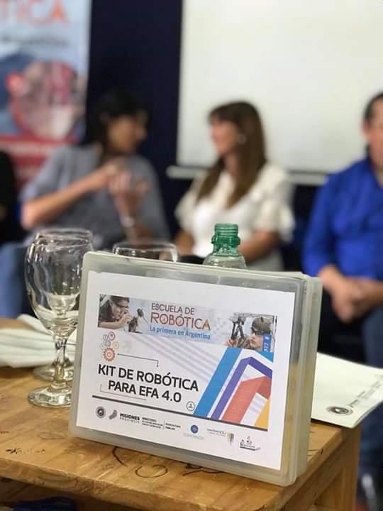 Brindarán talleres de robótica educativa en 15 escuelas de la familia agrícola