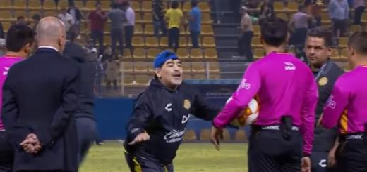 Maradona recibió una nueva sanción en México: ¿qué hizo ahora?