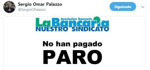 Mañana hay paro y no atenderá el Banco Nación