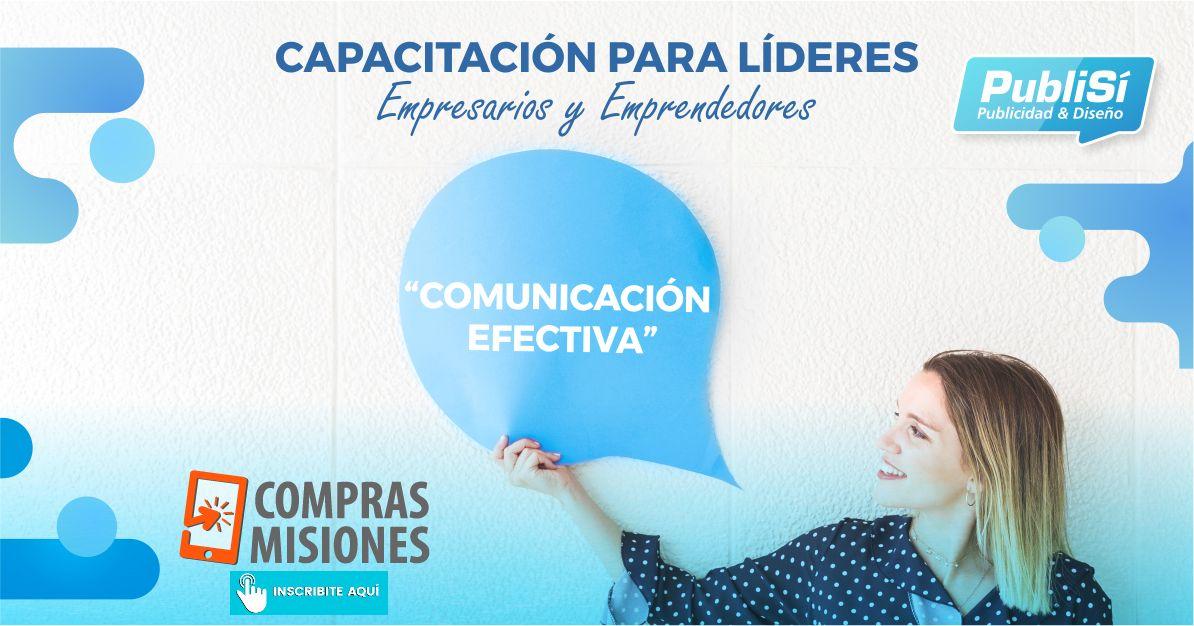 PubliSí presenta el taller de Comunicación Efectiva…Inscribite aquí en Compras Misiones