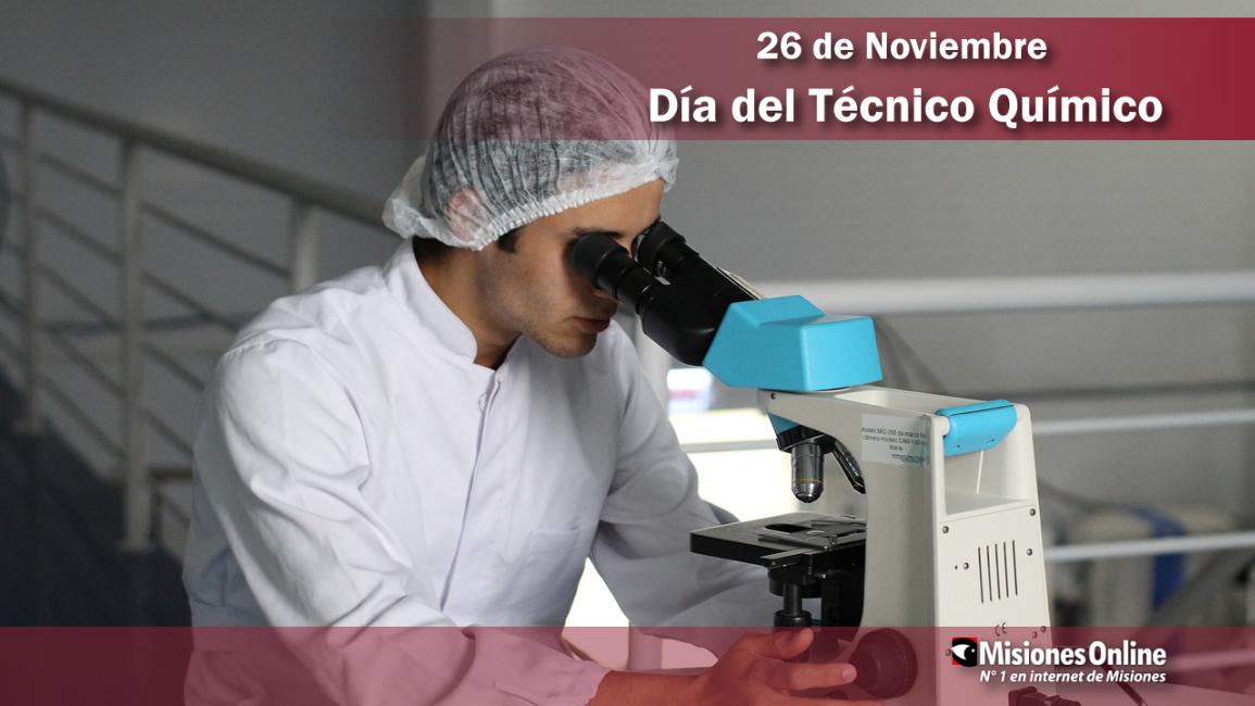 26 de noviembre: Día del Técnico Químico
