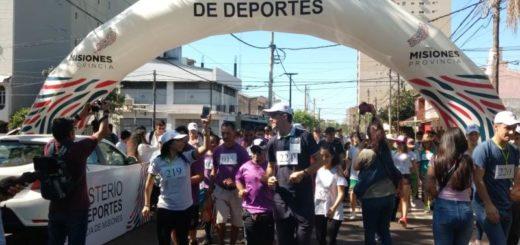 Se realizó la Primera Maratón Inclusiva en la ciudad de Posadas