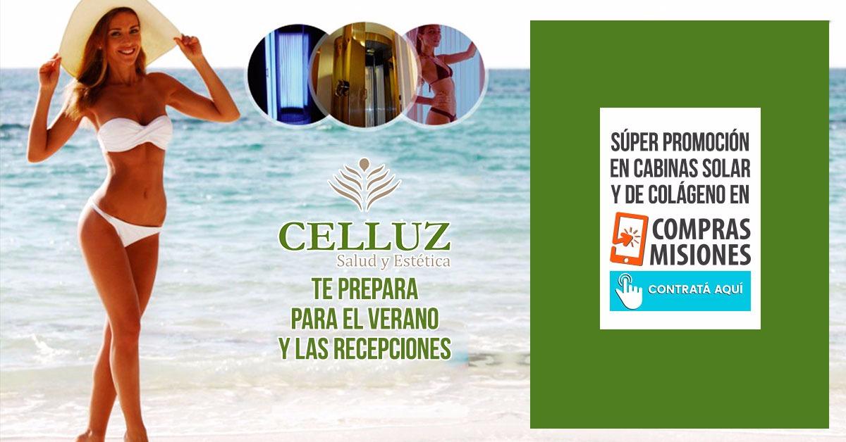 Celluz incorporó lo último en cabina solar: colágeno + UV a precios low cost