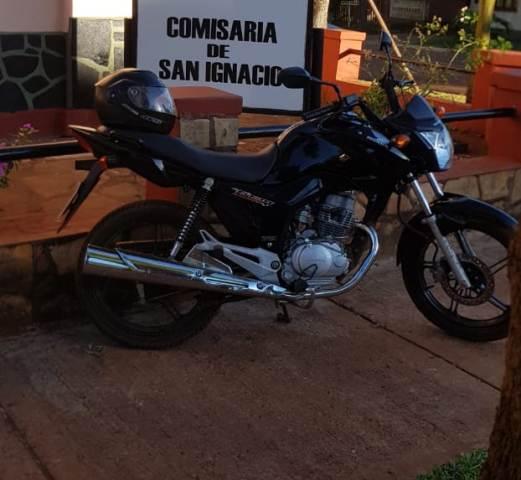 Detuvieron a motociclista que atropelló a un hombre y se dio a la fuga en San Ignacio