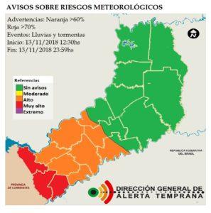 Alerta Naranja: recomiendan no arrojar residuos en la vía públicaante la probabilidad de tormentas