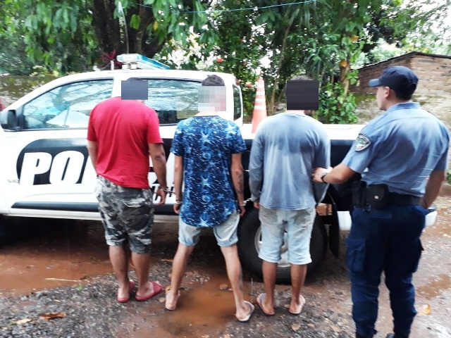 Detienen a tres jóvenes que intentaron robar en una casa quinta