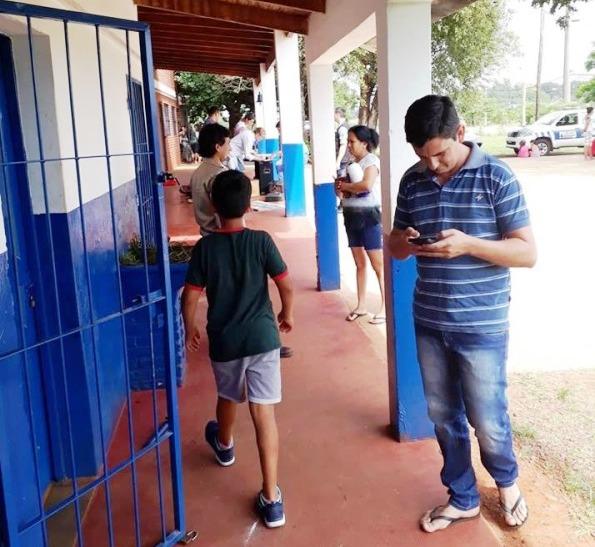 «Destrozaron el lugar más seguro que teníamos y se llevaron todo», dijo el director de la escuela que robaron en Los Patitos