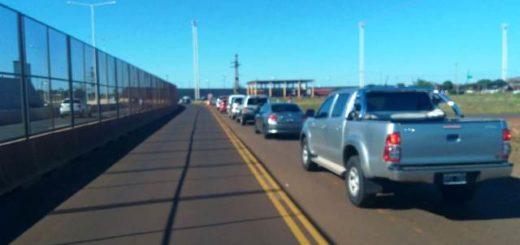 Leve incremento del flujo de vehículos que cruzan de Posadas a Encarnación