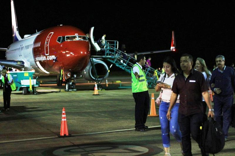 El primer vuelo de Norwegian arribó a Misiones