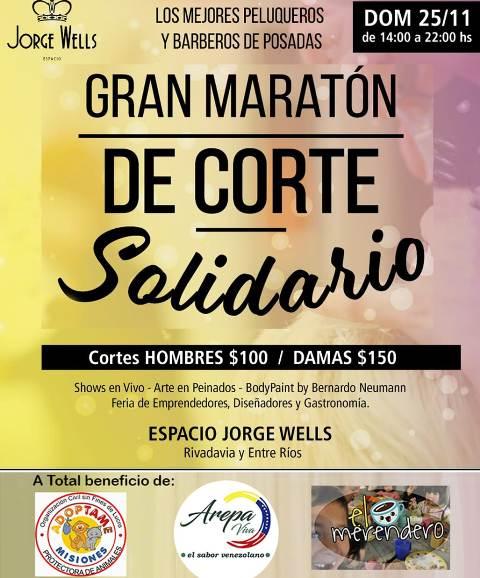 Organizan un mega evento solidario a beneficio de un merendero, Adoptame Misiones e inmigrantes venezolanos