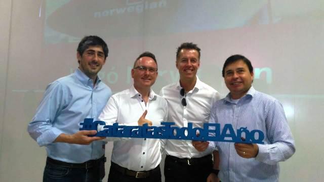 Norwegian, la quinta compañía que desembarcó en Iguazú fue presentada hoy en sociedad