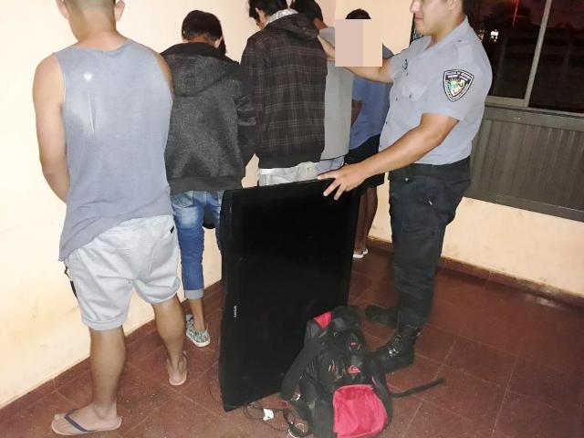 Seis detenidos por el robo a una casa del barrio Néstor Kirchner