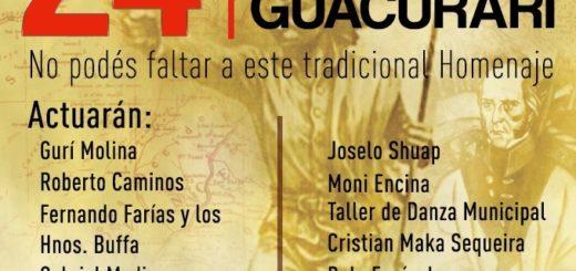 Harán el Festival Homenaje a Andresito Guacurarí en Garupá