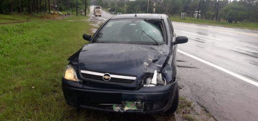 Puerto Leoni: falleció una joven al ser embestida por un auto sobre ruta 12
