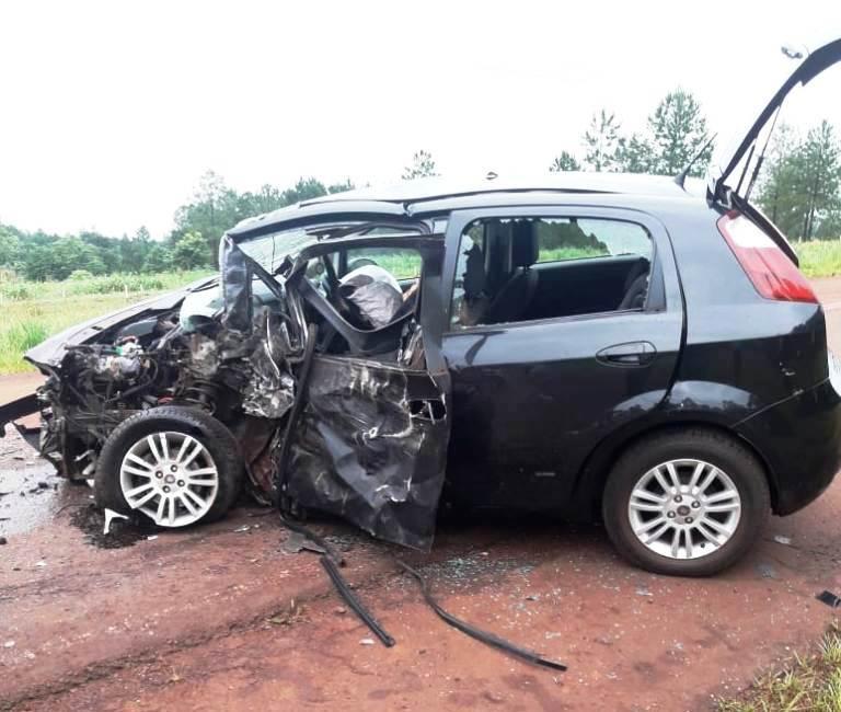 Una persona murió en un brutal choque sobre la ruta provincial 17