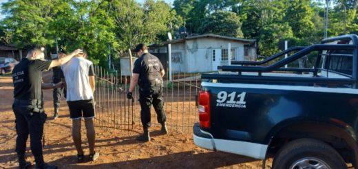 Sorprenden a una pandilla que pretendía saquear una casa en Oberá: un detenido