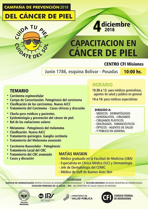 Continuarán las actividades durante la segunda semana de prevención del cáncer de piel