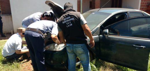 Ubican y recuperan en Alem un auto que había sido robado en Buenos Aires
