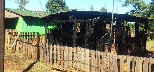 Apóstoles: sigue la búsqueda del hombre acusado de haber incendiado la casa de un amigo tras una discusión por el Boca-River