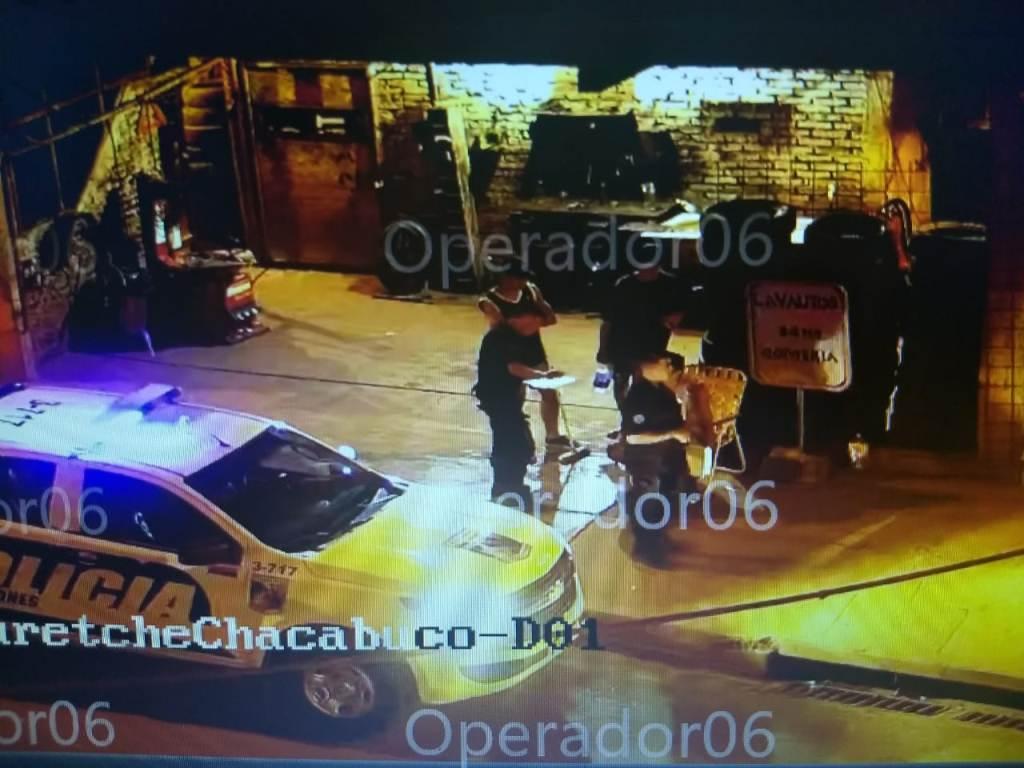 Posadas: cámaras de videovigilancia los captaron  en pleno intento de robo y fueron detenidos