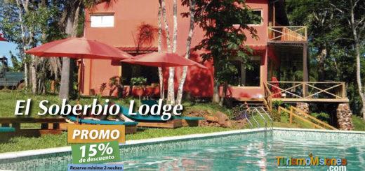 A través de Turismo Misiones podés acceder a una imperdible promoción del 15% de descuento en El Soberbio Lodge