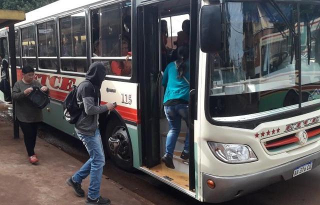 Eldorado: el transporte urbano pasó de 16$ a 22$ sin SUBE desde hoy
