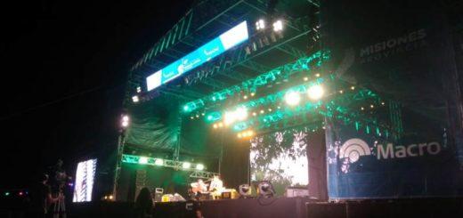 Posadas vivió la segunda noche del Festival de la Música del Litoral