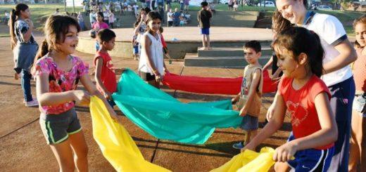La EBY habilita un espacio para la cultura y el deporte en la Plaza de los Niños del barrio San Isidro de Posadas
