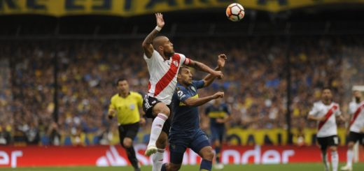 #SuperfinalLibertadores: Wanchope puso en ventaja a Boca, pero Pratto inmediatamente lo empató