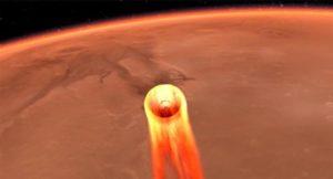 La sonda InSight estudiará por primera vez el interior del planeta Marte