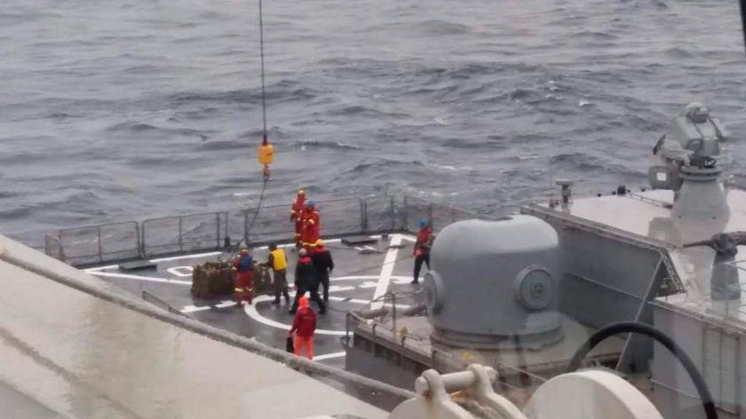 Tras el hallazgo del ARA San Juan, el Seabed Constructor no haría el reflote y viaja a Sudáfrica con los veedores a bordo