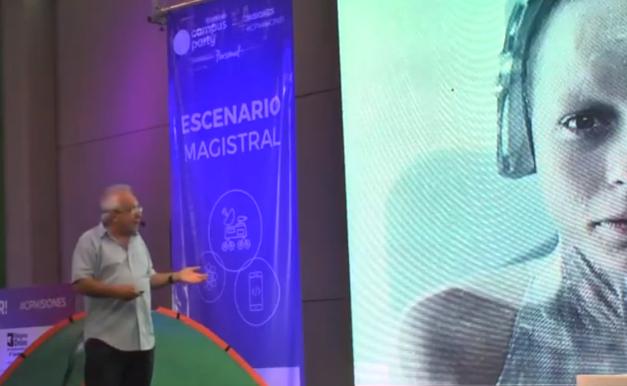 Alejandro Piscitelli y un ameno repaso de las profesiones del futuro