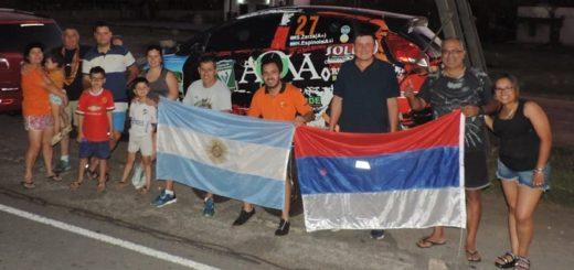 El binomio Sergio Zarza-Hugo Espinola listo para la definición del Rally Sudamericano en Uruguay