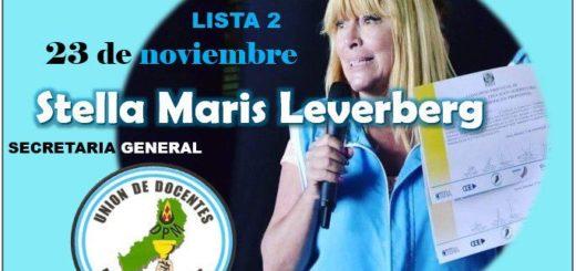 Con lista única la UDPM renueva hoy sus autoridades: Marilú Leverberg busca ratificar su liderazgo