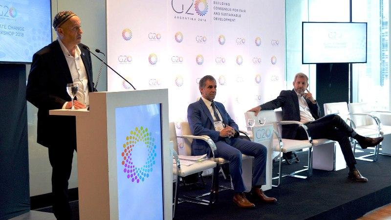 G20: Macri recibió el informe elaborado por el grupo de trabajo de Sustentabilidad Climática