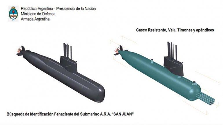 Se difundió un vídeo que recrea cómo fue la implosión del ARA San Juan