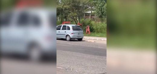 Indignación en Tucumán: viralizan un vídeo de un conductor que llevaba a un perro muerto atado al auto