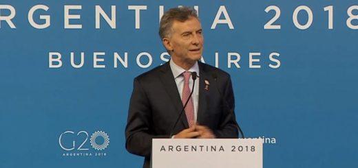 Macri anunció que lograron un documento final en el #G20, pero Trump marcó sus diferencias