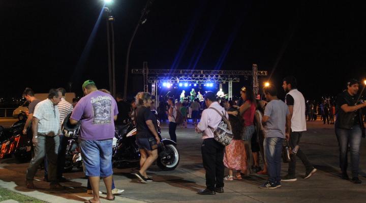 """Exitosa primera jornada del mega evento """"Posadas Late 2018"""" en la Costanera"""