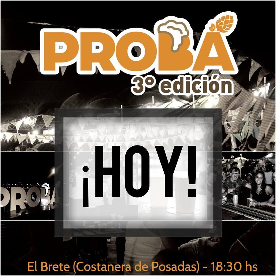 Hoy se realiza la tercera edición de PROBÁ en la Costanera de Posadas