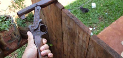 Guaraní: allanaron una casa en busca de un animal robado y se encontraron con un arma