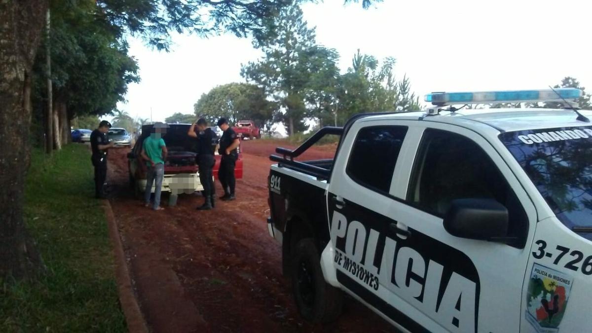 En Oberá detuvieron a un joven acusado de robar autopartes de un taller