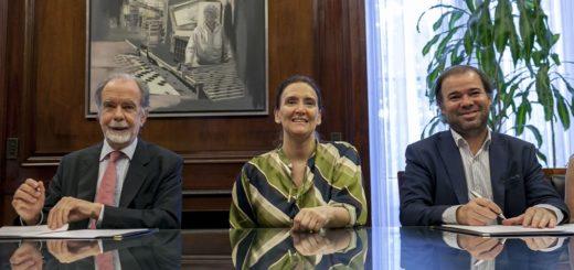 Banco Nación firmó acuerdo de cooperación con el gobierno para mejorar la calidad de servicios a las personas con discapacidad