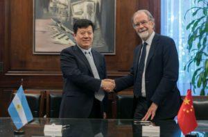 El Banco Nación Argentina firmó un acuerdo de cooperación con China Export & Credit Insurance Corporation