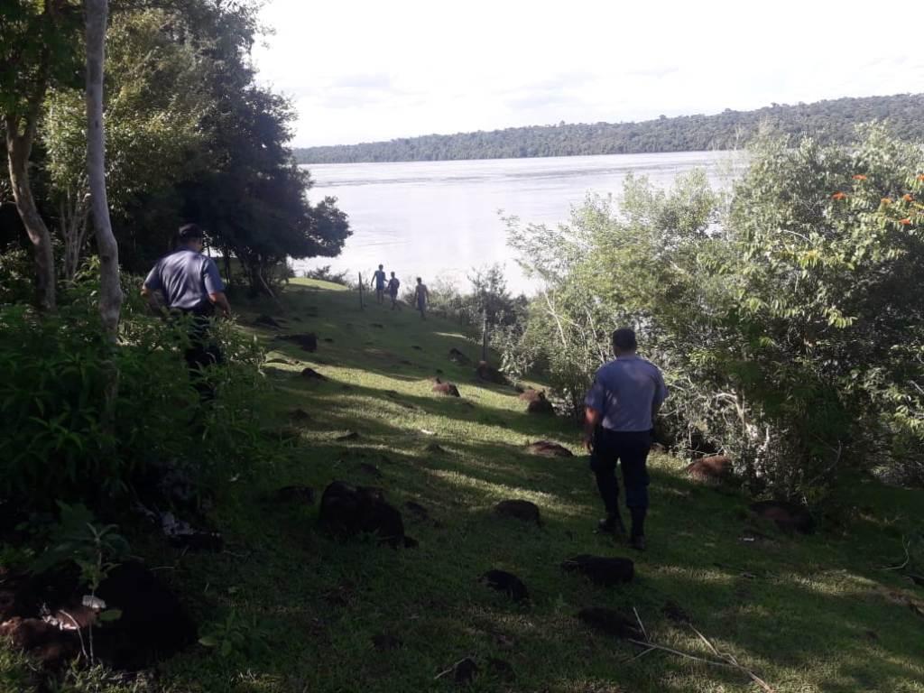 Andresito: sigue la búsqueda del joven que desapareció en el río Iguazú cuando intentaba rescatar a su prima