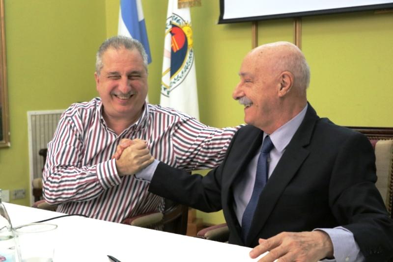 Al firmar convenios con el CFI, Passalacqua remarcó que «tienen incidencia en la vida de los misioneros»