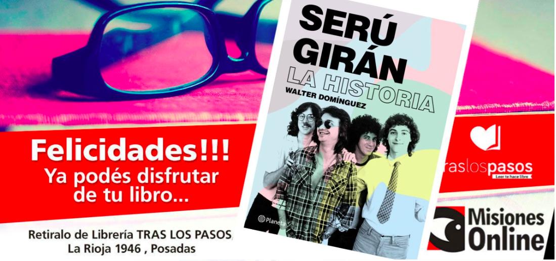 """""""Los libros no muerden"""": Misiones Online sorteó un nuevo material de lectura y se lo ganó…"""
